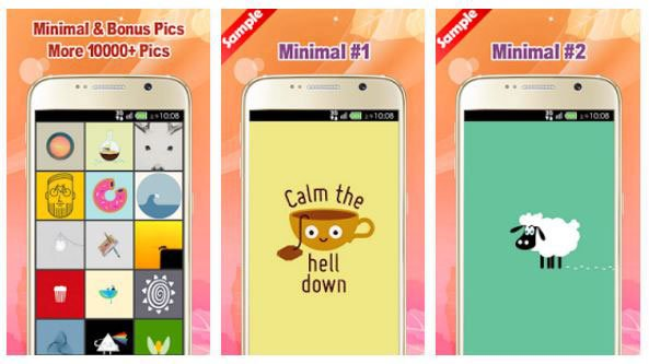 Minimal Wallpaper app