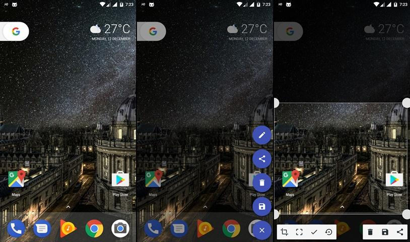 take partial screenshot