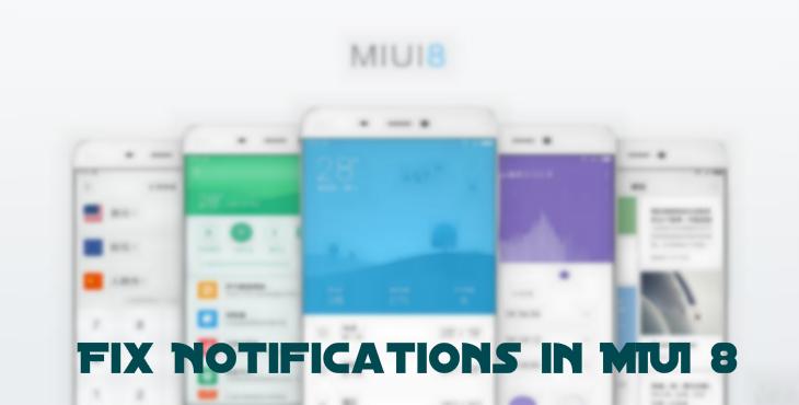 Fix Push Notifications in MIUI 8