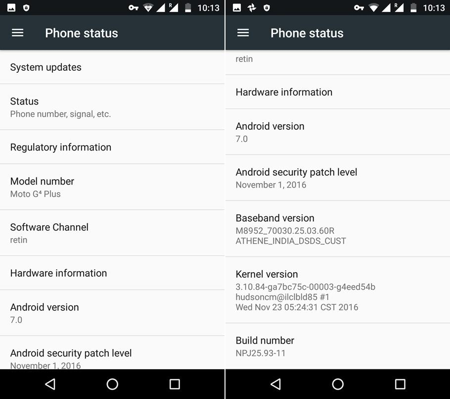 Install Official Moto G4 Plus Nougat Update [XT1640/1641/1642/1643