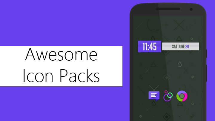 Amazing Android Icon Packs