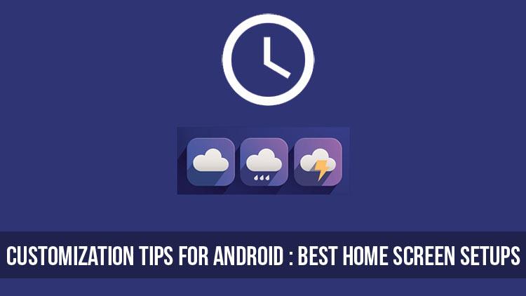 Best Home Screen Setups