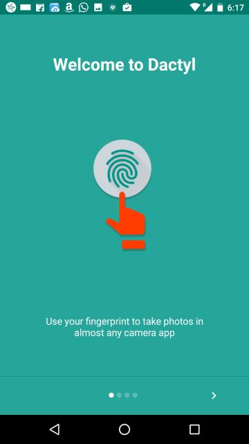 Dactyl- Fingerprint Camera