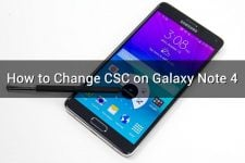 how to change csc on galaxy note 4