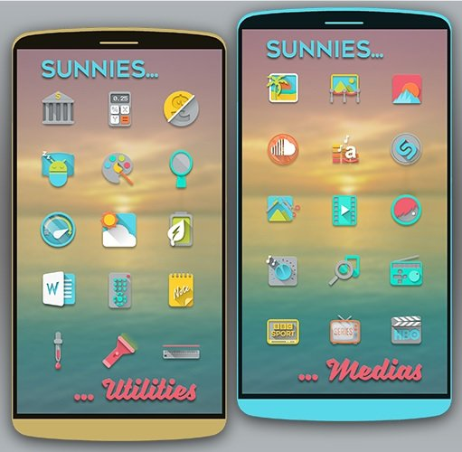 Sunnies Icon Pack