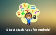 Best Maths Apps Android