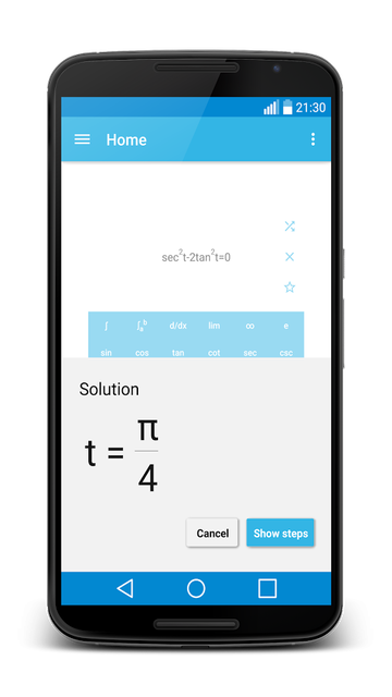 MalMath android app