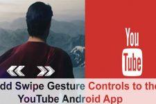 Add Swipe Controls to YouTube