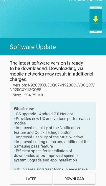 Install Android 7 0 Nougat Firmware on Galaxy Note 5 (SM