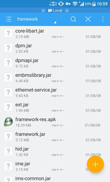 edit framework res apk