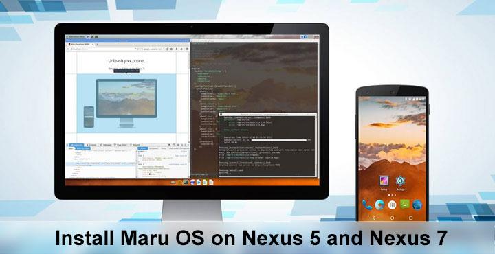 Maru OS - Desktop-like Android Experience on Nexus 5 & 7 - Droid Views