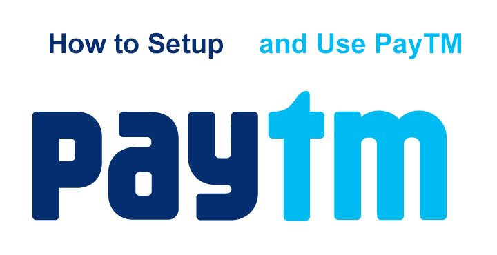Paytm setup and use