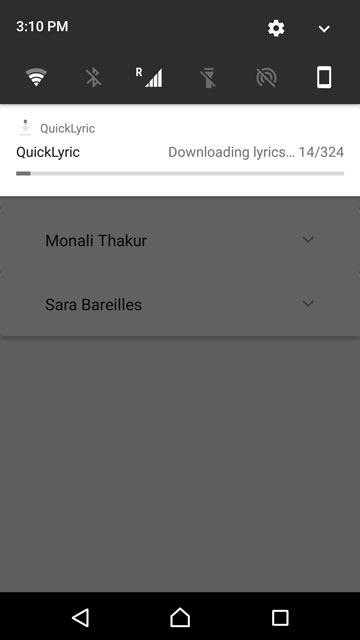 Song Lyrics on Android