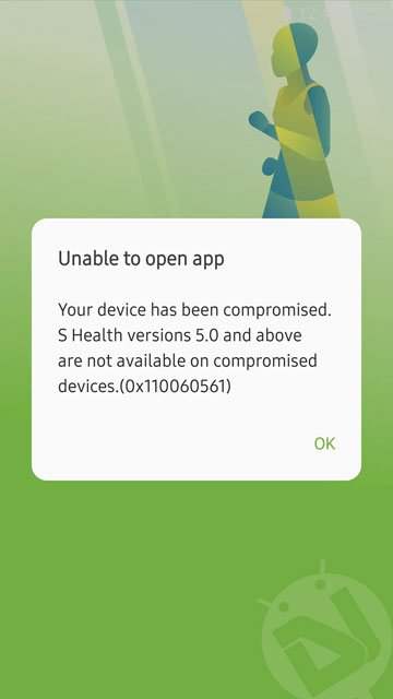 S-Health on rooted Samsung