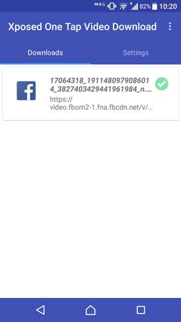 Share Facebook videos to WhatsApp