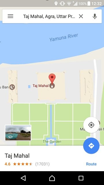 lists in Google Maps