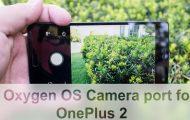 Oxygen OS 3.5.6 Camera port OP 2