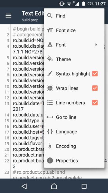 build.prop file