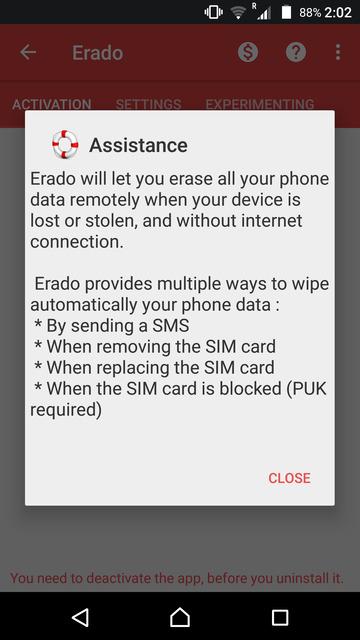 erado app android