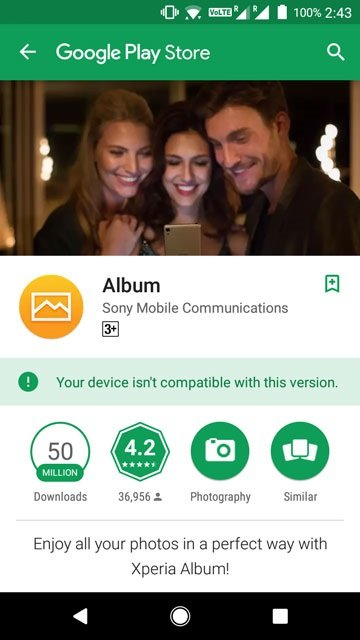Install Xperia Music, Album, Weather and Other Sony Exclusive Apps from the Play Store