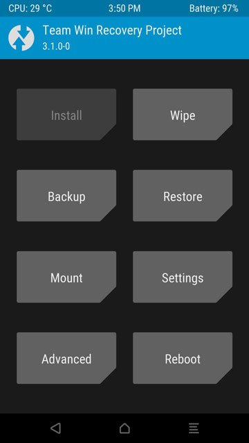 install TWRP and root xiaomi mi6
