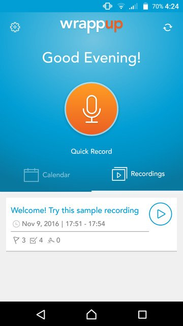 Record and Manage Audio Notes with Wrappup