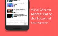 Chrome Browser Address Bar - Move Chrome Address Bar to the Bottom - Droid Views