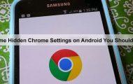 Hidden Chrome Settings