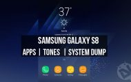 Samsung Galaxy S8 Apps - Tones and System Dump - Droid Views