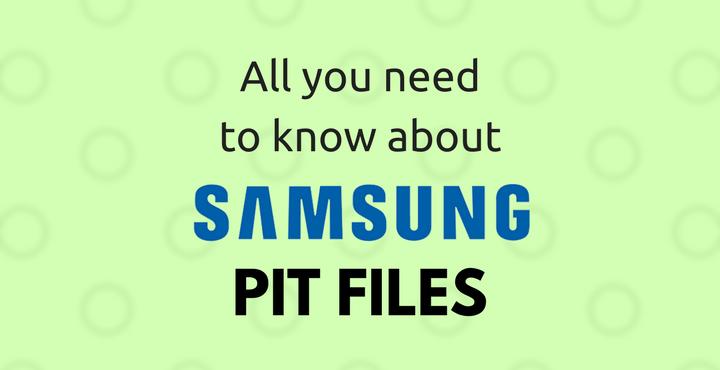 Samsung PIT Files