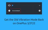 Vibration Mode Back on OnePlus