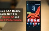 Xperia XZ - Android 7.1.1 Nougat Update - Droid Views