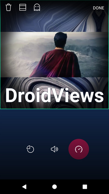 Try MOCR Video Editor for basic video editing on android