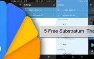 Substratum Themes - 5 Best Free Substratum Themes - Droid Views