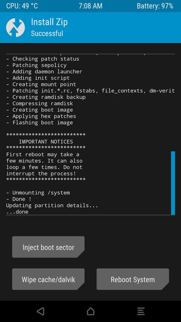 systemless supersu twrp