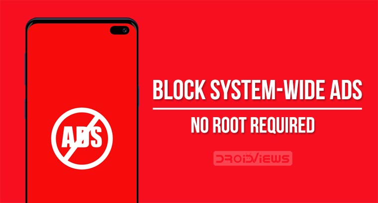 Block system-wide ads on Android