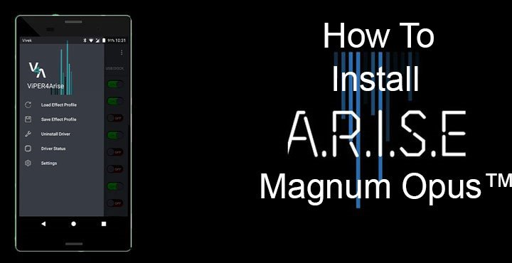 How to Install ARISE Magnum Opus Sound Mod on Your Android