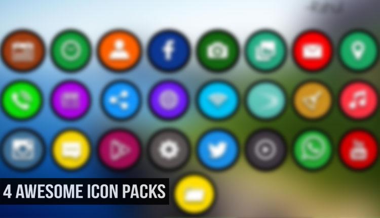 Popular Icon Packs