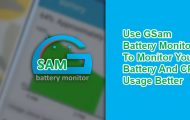Battery and CPU Usage