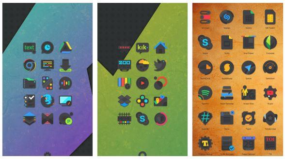 Crispy Dark – Icon Pack