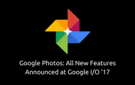 Google Photos Features