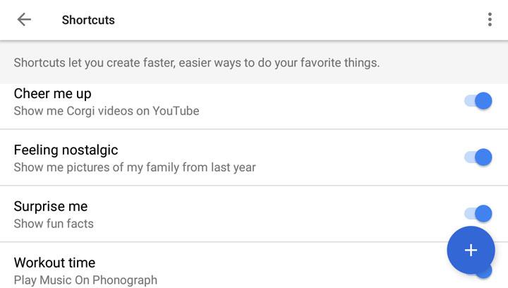 List of Google Assistant Shortcuts