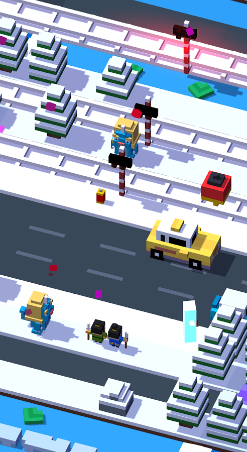 crossy road android game