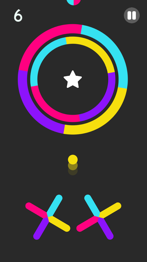Color Switch Jumper addictive android game