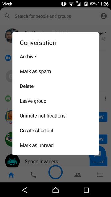 messenger tips and tricks