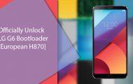 unlock bootloader lg g6