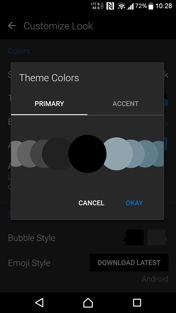 Dark themed app replacements for your android