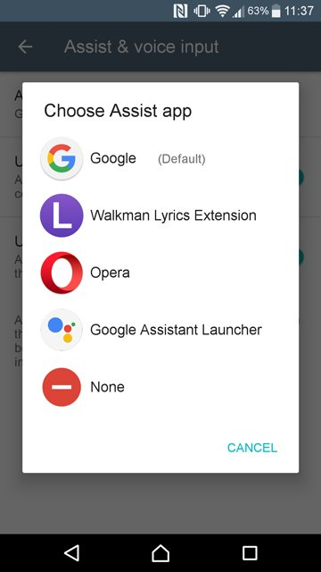 Google Assistant on Lollipop