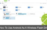How to Use Android - Wireless Flash Drive - Droid Views