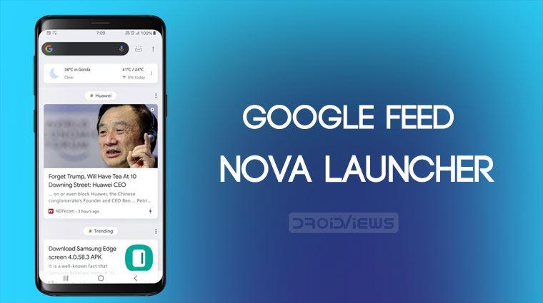 Enable Google Feed In Nova Launcher Nova Google Companion Apk